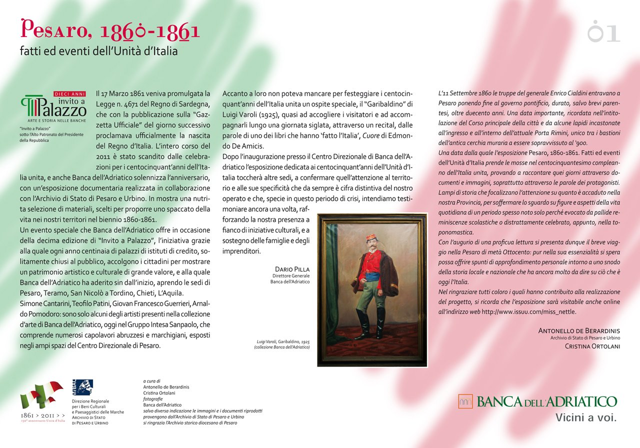Pesaro 1860-1861 -pannello n. 1