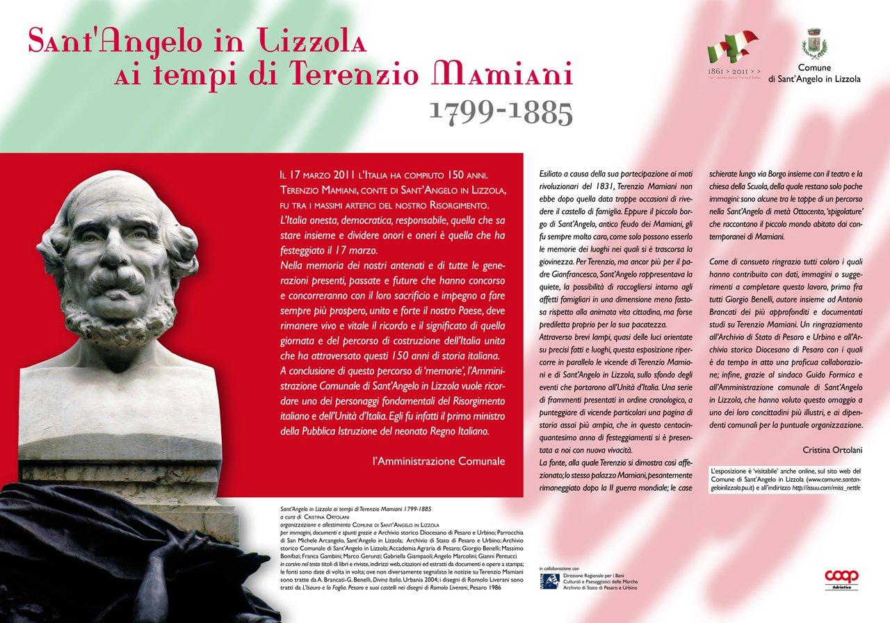 Sant'Angelo in Lizzola ai tempi di Terenzio Mamiani - pannello 00