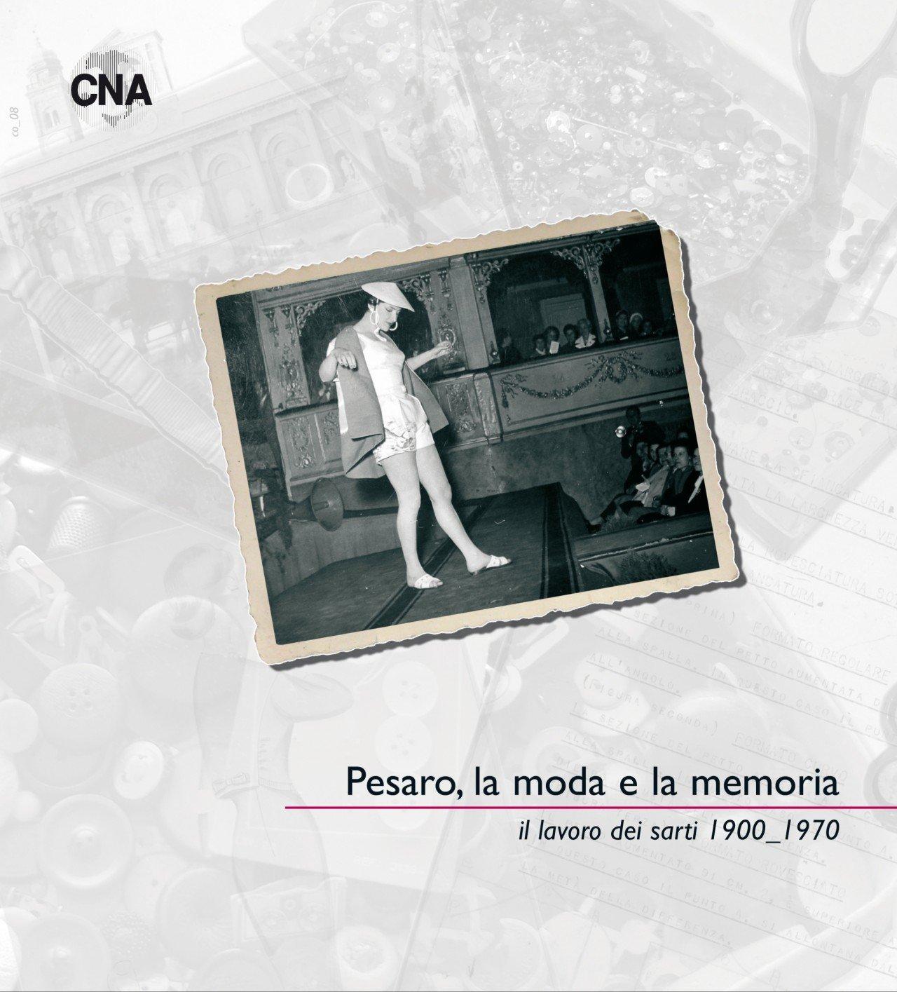 Pesaro la moda e la memoria 2008 - copertina