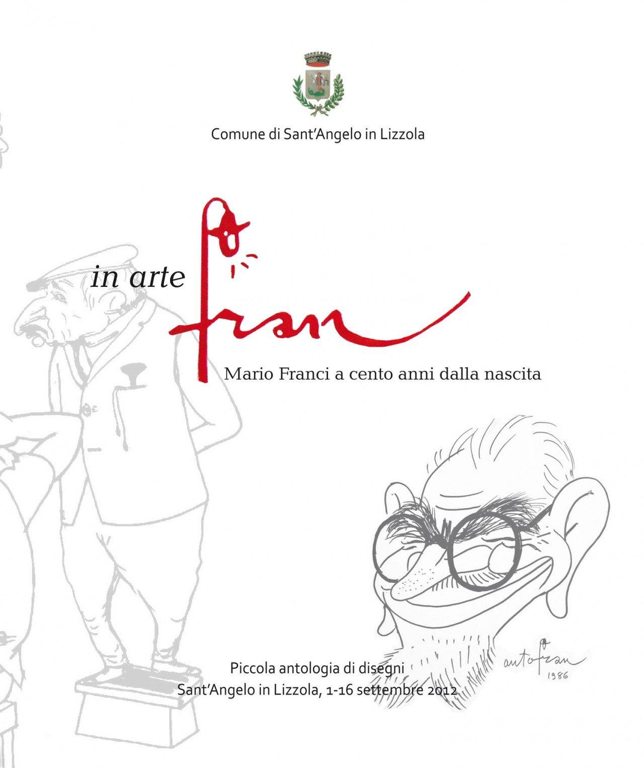 In arte Fran. Mario Franci . copertina