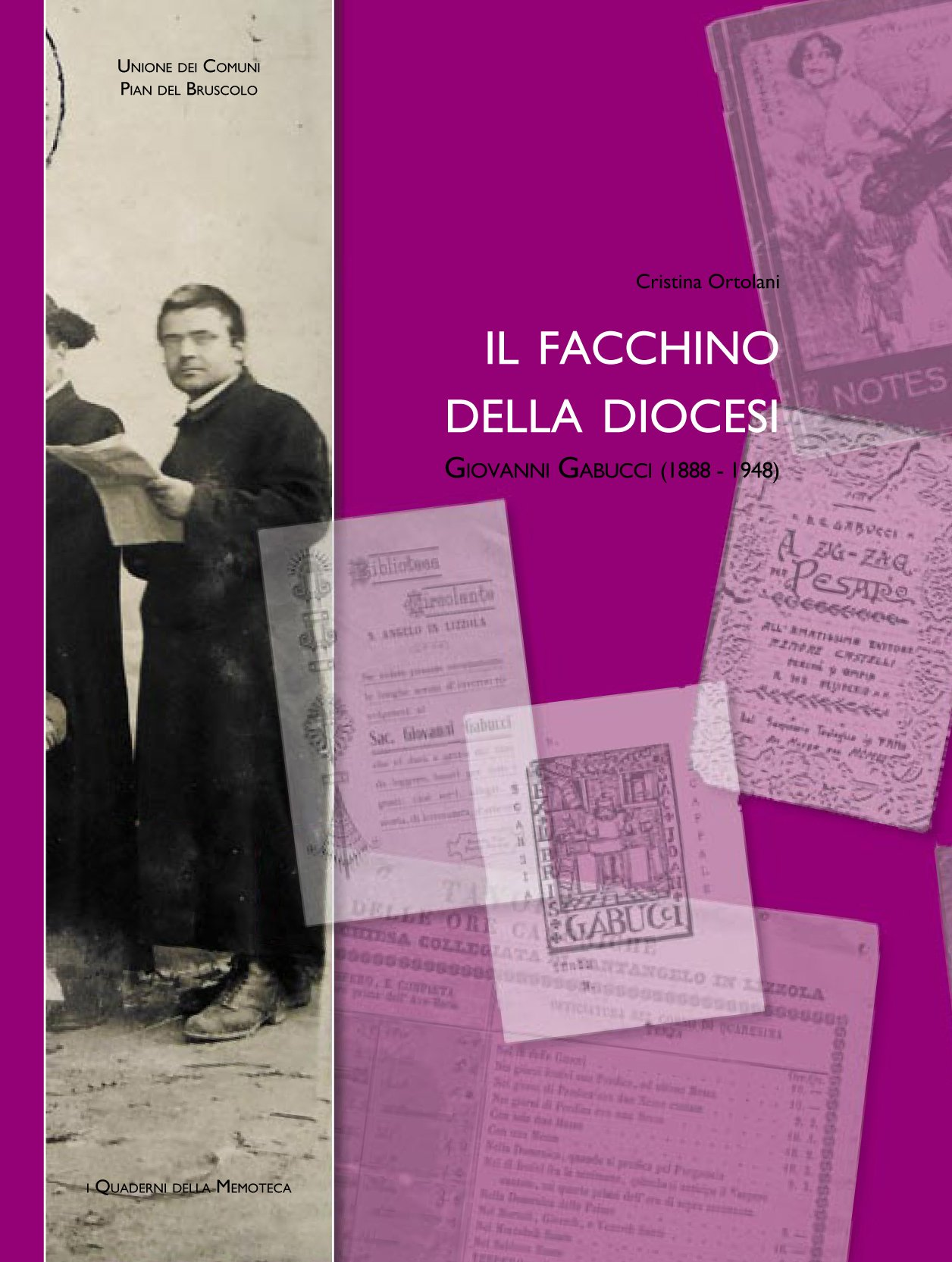 Il facchino della diocesi. Giovanni Gabucci - copertina