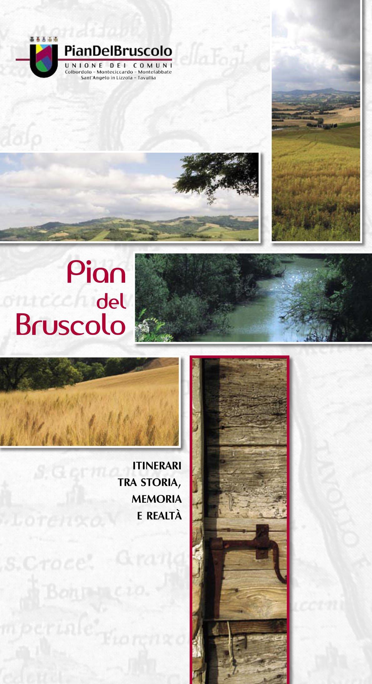Pian del Bruscolo itinerari - copertina
